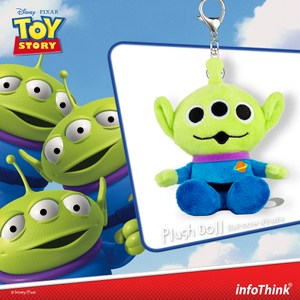 InfoThink 玩具總動員系列絨毛藍牙喇叭(三眼怪)