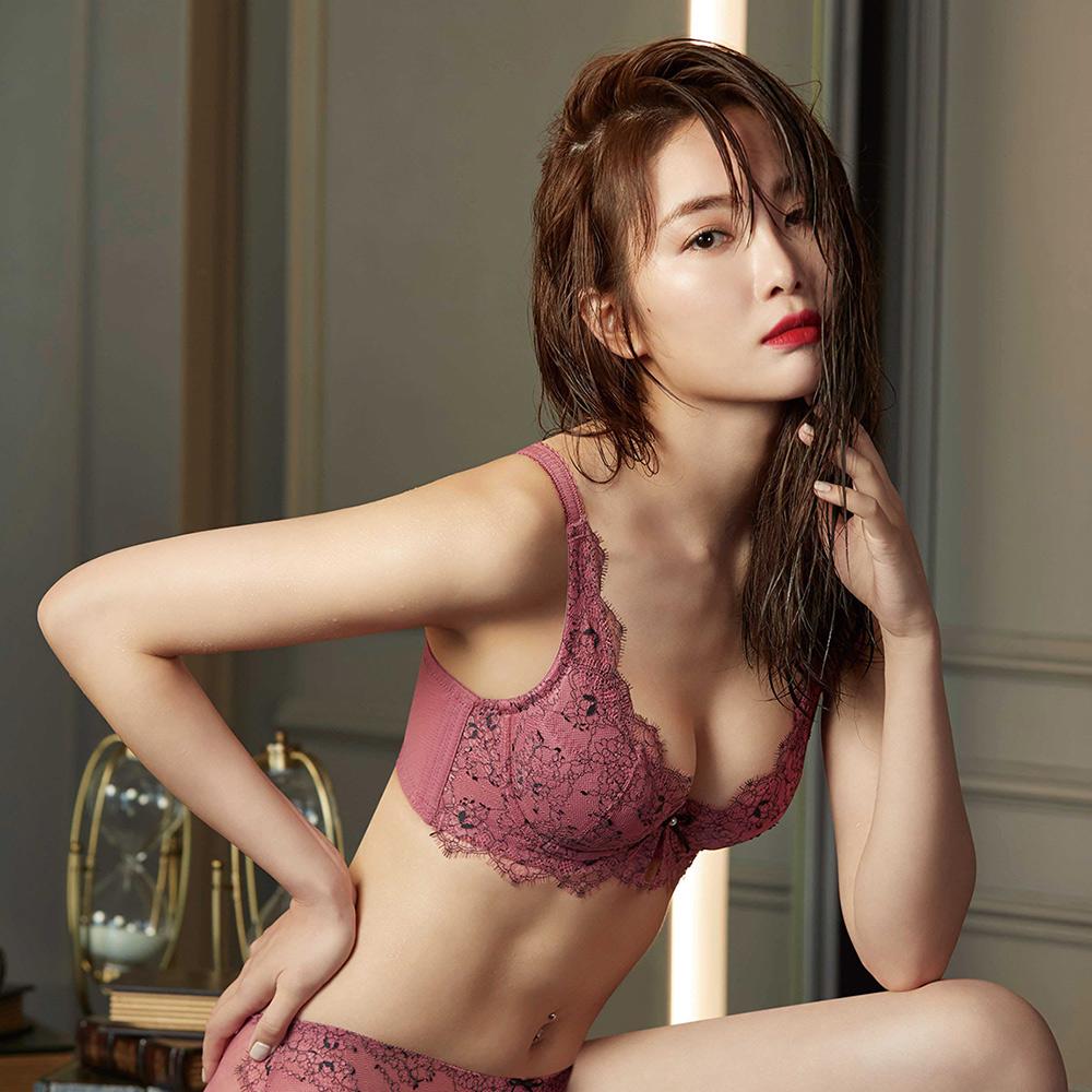 曼黛瑪璉Mode Marie V極線內衣 B-E罩杯 嫣玫粉