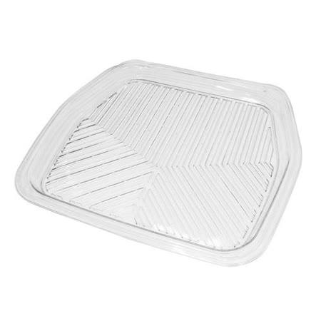 PackyPoda 3D凹型透明汽車踏墊 (後座)