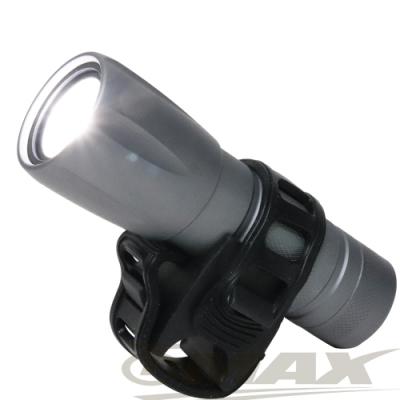 omax 沖繩星野超亮5W伸縮調焦變光自行車燈 B22