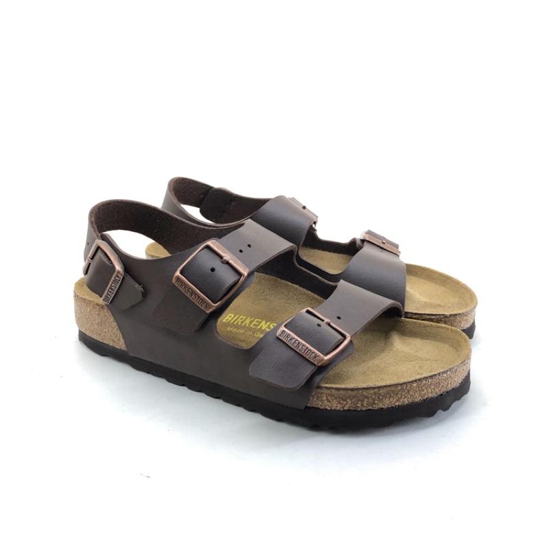 勃肯涼鞋 米蘭 咖啡色 Birkenstock 草屯店