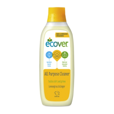 【ECOVER 宜珂】多功能濃縮清潔劑 -檸檬&生薑1000ml