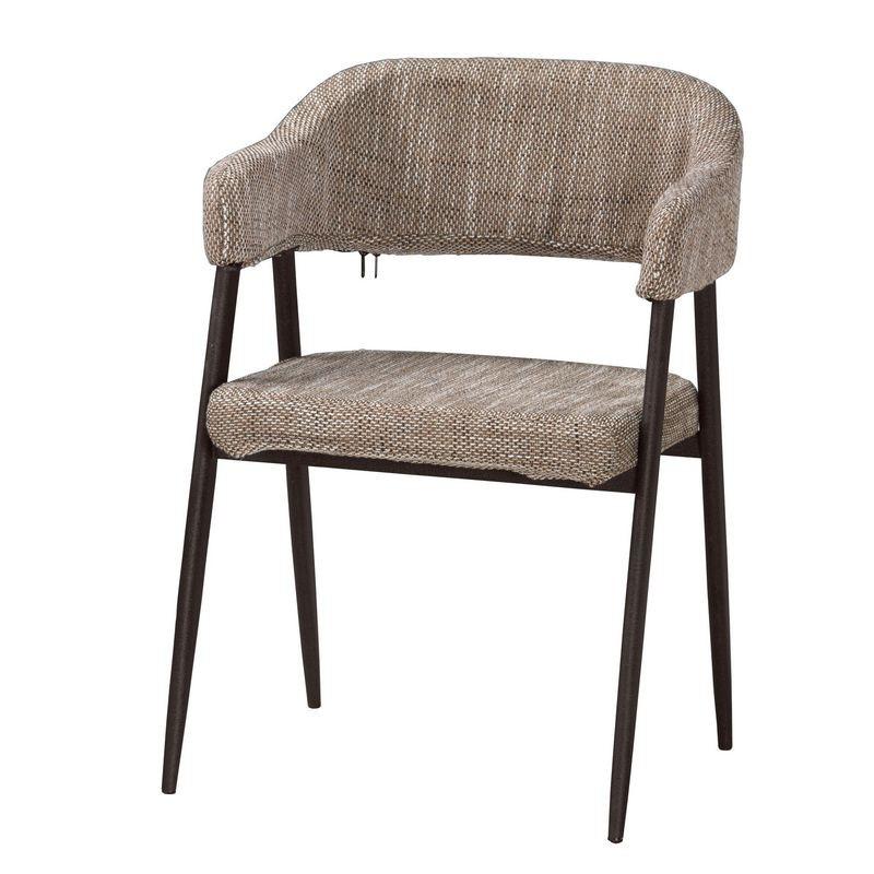 【MA531-11】史丹尼餐椅(布)(五金腳)
