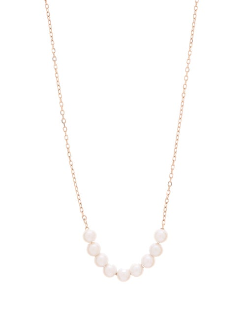 Mizuki - Akoya Pearl & 14kt Gold Lariat Necklace - Womens - Pearl