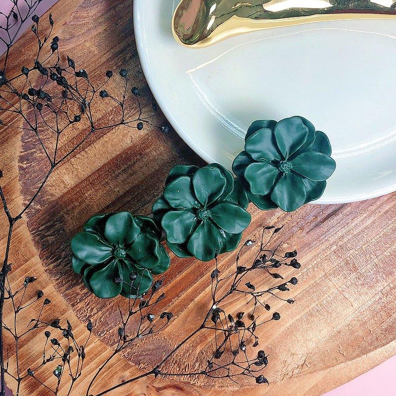 客製 花花髮夾 髮飾 婚禮小物 姊妹禮物 生日禮物  珍珠