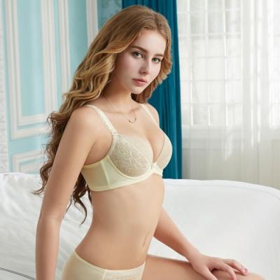 瑪登瑪朵 輕盈軟棉圈內衣 A-E罩杯 鵝黃 RA0298-AY73