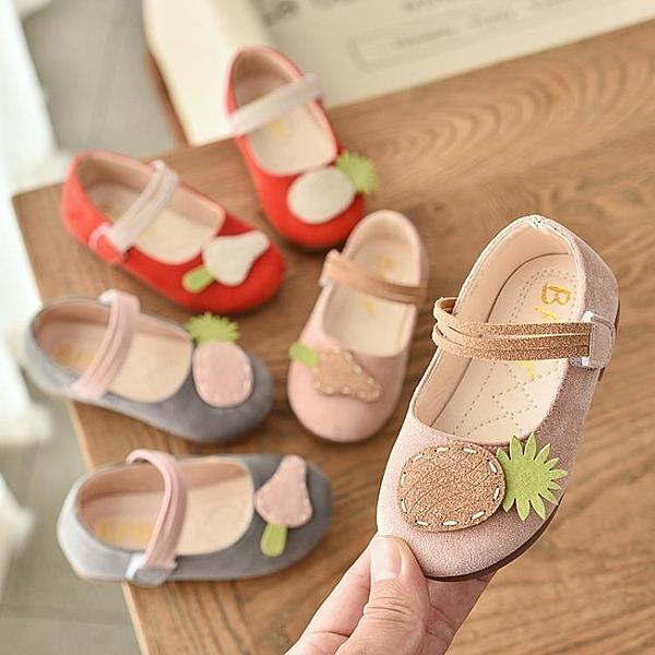 女童鞋公主小皮鞋軟底春夏季新款兒童單鞋魔術貼淺口寶寶鞋子 格蘭小舖 全館5折起