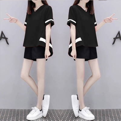 【韓國K.W.】(預購)夏日時光美玫套裝褲-3色
