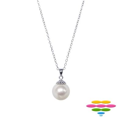 彩糖鑽工坊 18K 8.5-9 mm 日本 AKOYA 海水珍珠項鍊
