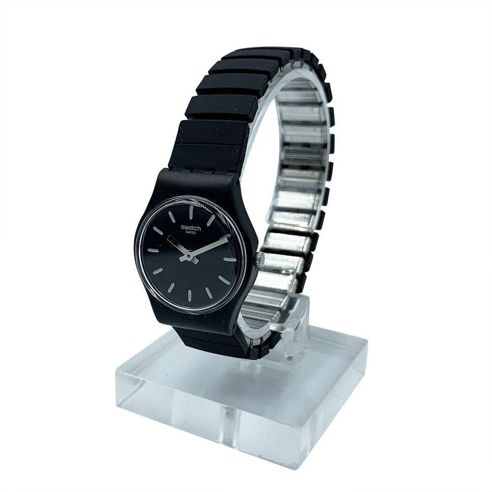 Swatch FLEXIBLACK S 腕錶 手錶 黑 LB183B