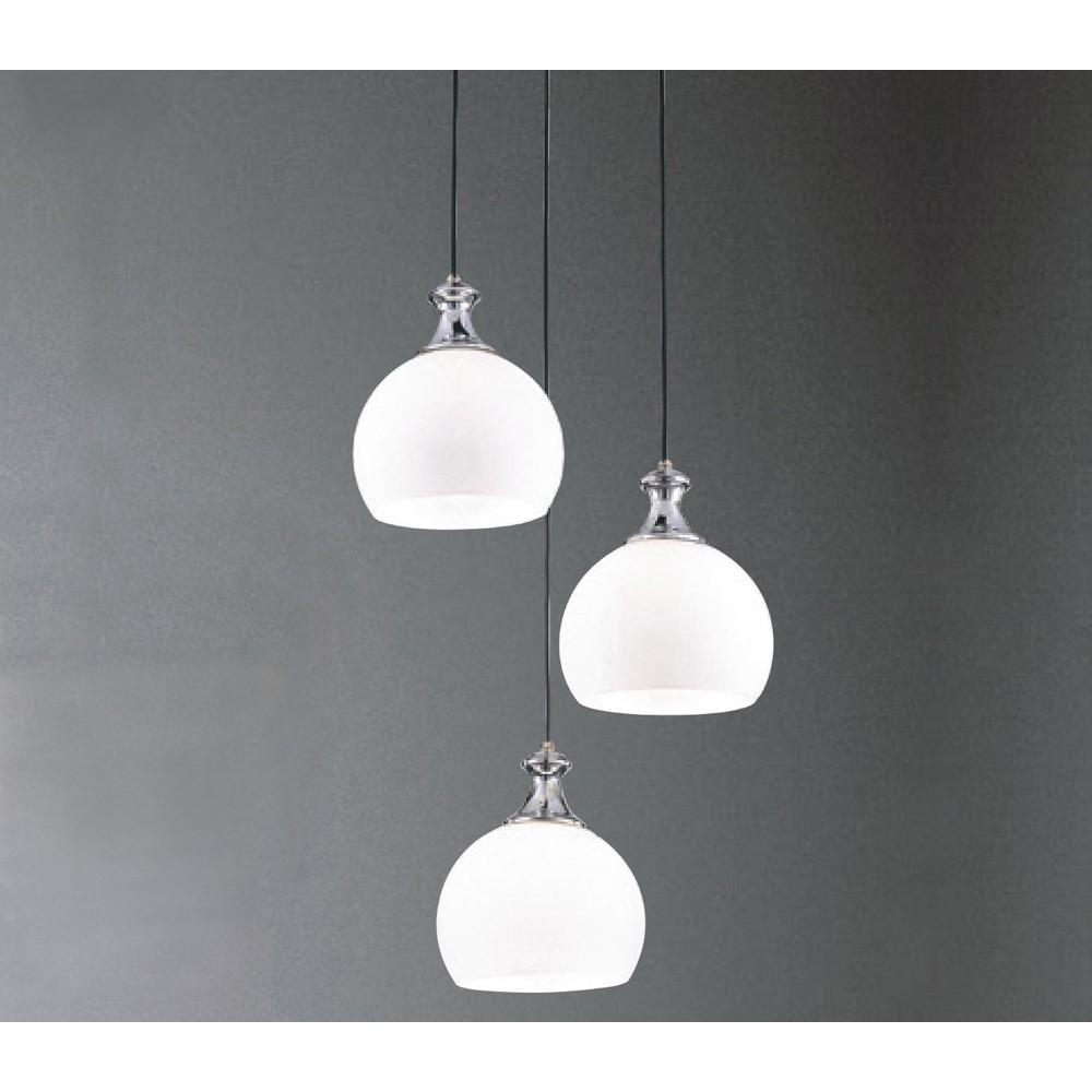 【大巨光】台製現代風3燈吊燈_小(LW-09-4224)