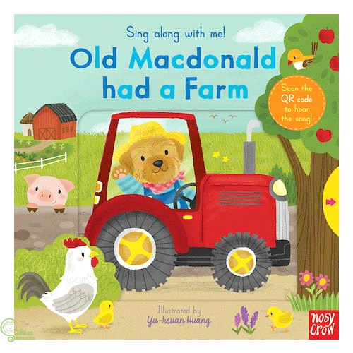 Sing Along with Me: Old MacDonald Had a Farm (硬頁推拉書)【禮筑外文書店】