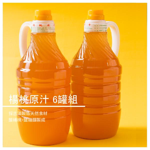 【 山王足酸甜楊桃原汁】自產自銷楊桃汁 6罐組★買12瓶送1瓶!