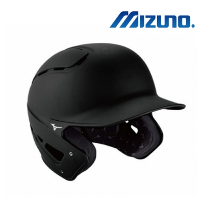 MIZUNO 美津濃 硬式棒球用打擊頭盔 黑 380403.9090