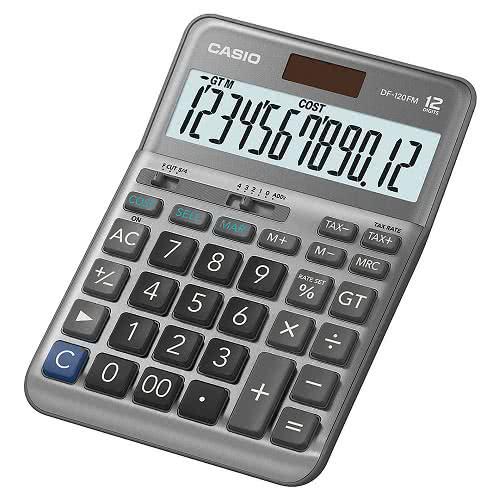 【卡西歐CASIO】DF-120FM 桌上型12位稅率計算機