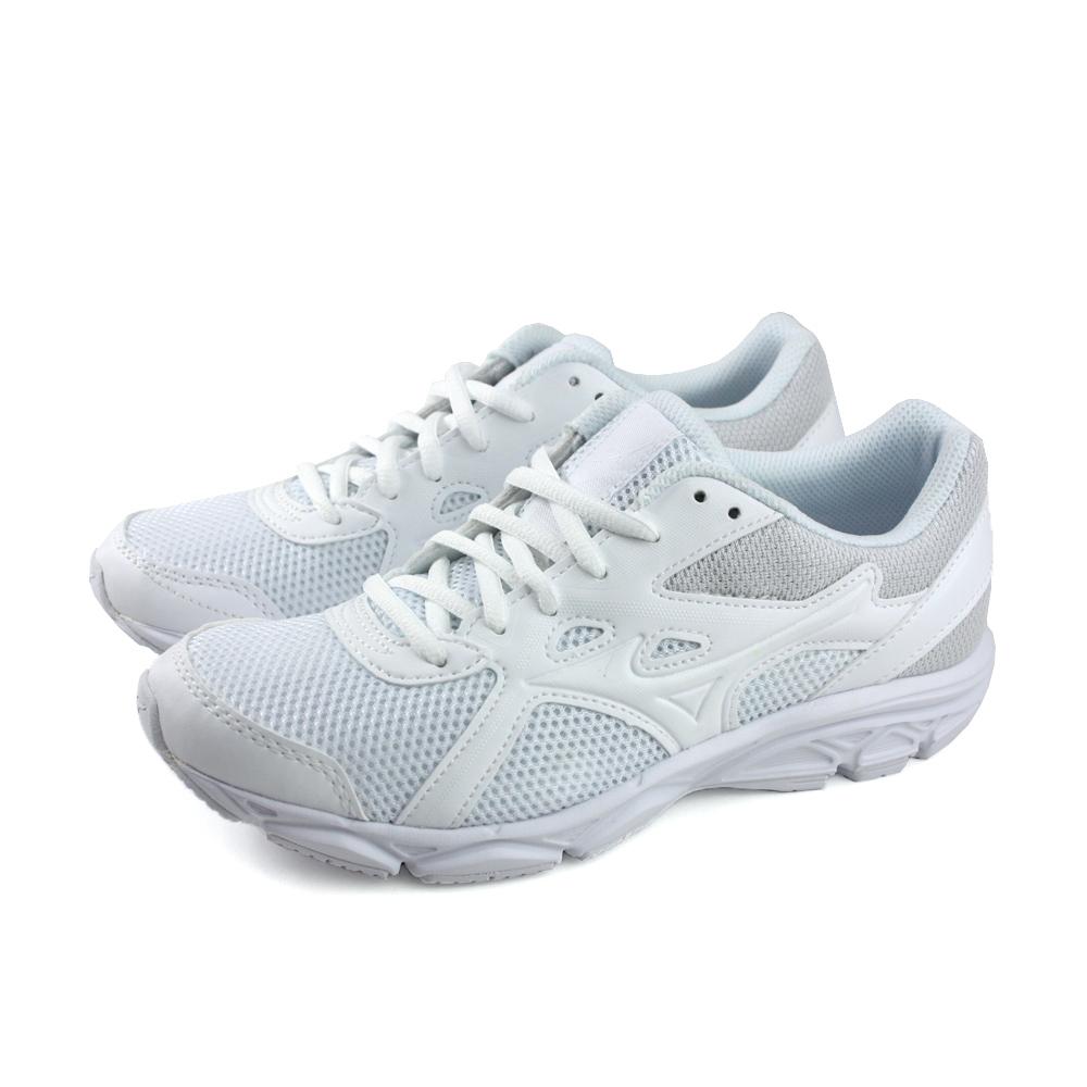 MIZUNO 美津濃 男鞋 慢跑鞋-WIDE MAXIMIZER 22 白 K1GA200201
