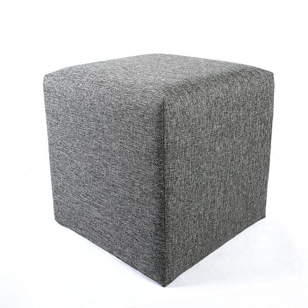 矮凳換鞋凳方凳子長方凳小凳矮墩坐凳家用布藝換鞋沙發凳40*40*40 萬寶屋