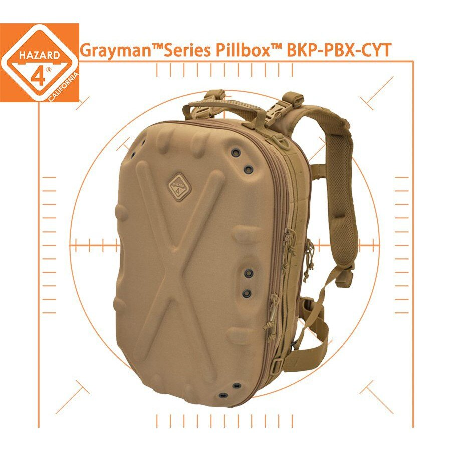 【拍拍】美國 Hazard 4 Series Pillbox™ BKP-PBX-CYT 後背包(土狼色) 【P48】