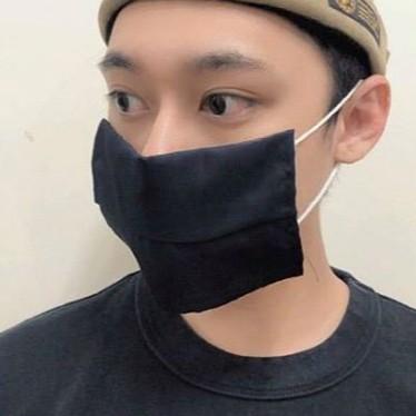 EVO 台灣製口罩套 延長口罩使用壽命 清洗後可重複使用 MASK 口罩 柔軟舒適 精梳棉 防風 防水 速乾 透氣