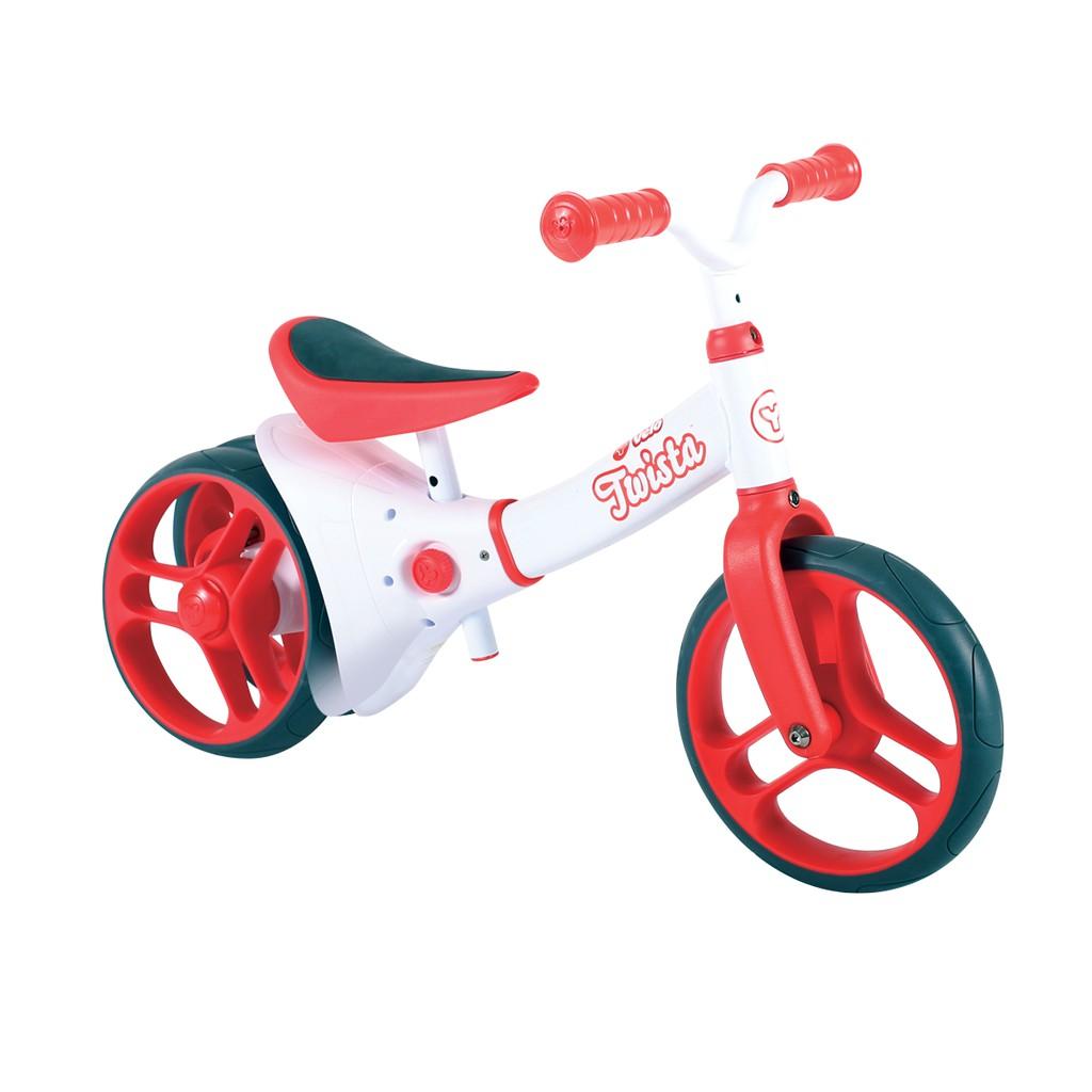 [送安全帽]YVolution Velo Twista 平衡滑步車-扭輪款(9吋)
