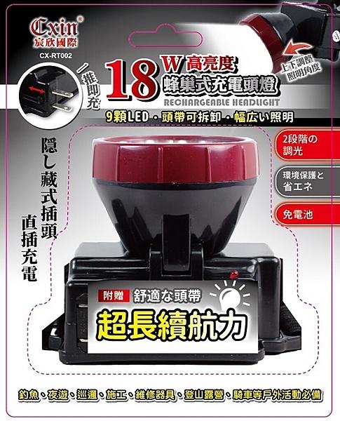 18W高亮度充電頭燈