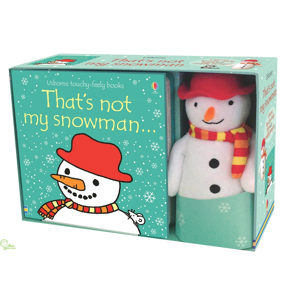 That's Not My Snowman Book And Toy (1硬頁觸摸書+1玩偶)【禮筑外文書店】[5折]
