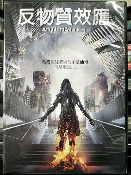 挖寶二手片-P59-006-正版DVD-電影【反物質效應】-亞沙費格羅 菲力帕卡爾森(直購價)