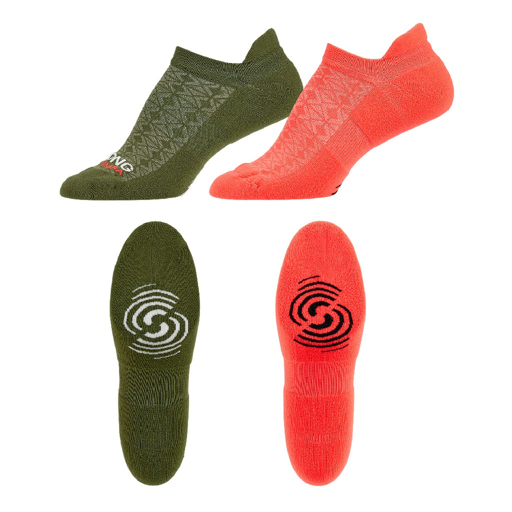 【ZUMBA】機能襪 CRep After Rep Seamless Socks 2 PK