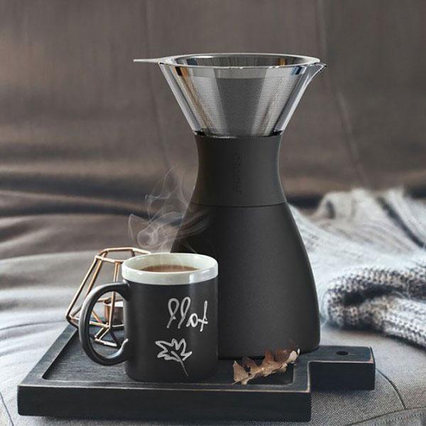 Pour Over 經典手沖不鏽鋼保溫咖啡濾壺 銅