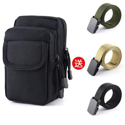 腰掛手機包 新品手機包男多功能穿皮帶掛腰包戶外防潑水戶外運動耐磨戰術腰包『LM954』