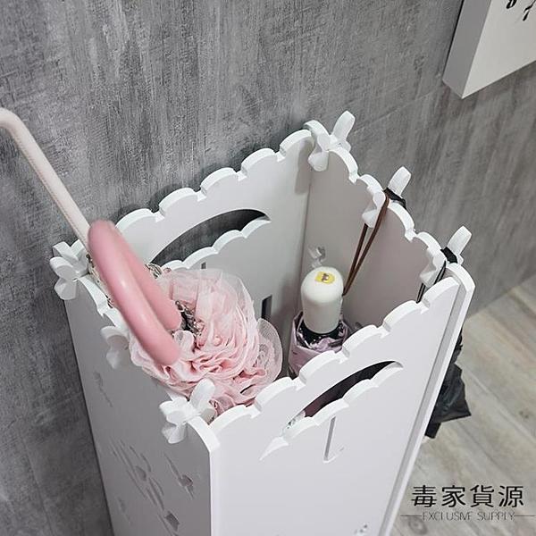 雨傘架家用辦公收納掛傘架子雨傘桶酒店大堂【毒家貨源】