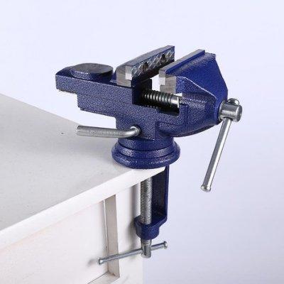 70mm台鉗 虎鉗/萬力/固定鉗 鑄鐵桌虎鉗 噴塑處理 多功能金屬台鉗 夾鉗 大力鉗 夾具 鑽床
