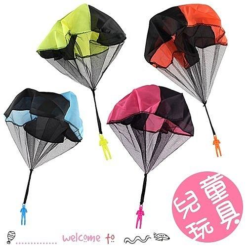 兒童手拋降落傘玩具 迷你士兵降落傘 戶外玩具