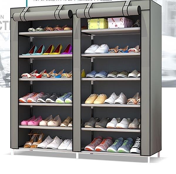 鞋架 簡易家用組裝多層宿舍收納防塵小號鞋架子省空間布鞋櫃經濟型 萬寶屋