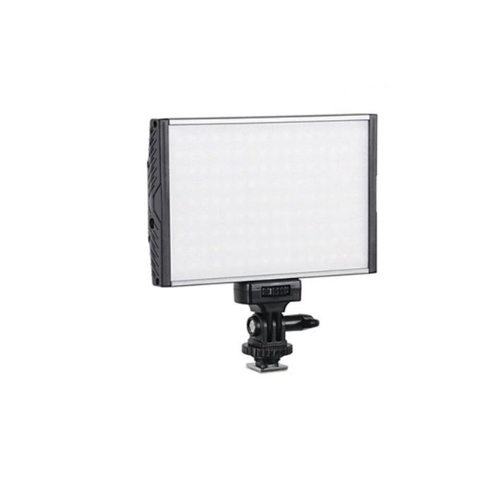 CAMKA PT15BPRO 機頂LED攝影燈 鋁合金機散熱 144顆燈 LED 可調色溫 棚燈 機頂燈 補光燈