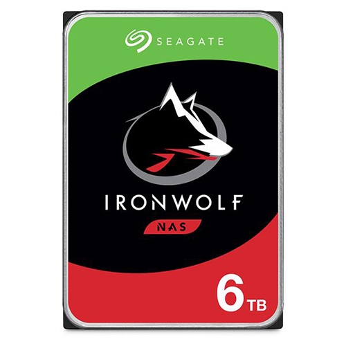 Seagate 希捷 IronWolf 那嘶狼 6TB 3.5吋 NAS 專用 硬碟 ST6000VN001