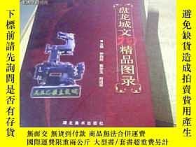 二手書博民逛書店罕見盤龍城文物精品圖錄7358 羅向陽 鄂學玉 鄭遠華 湖北美術
