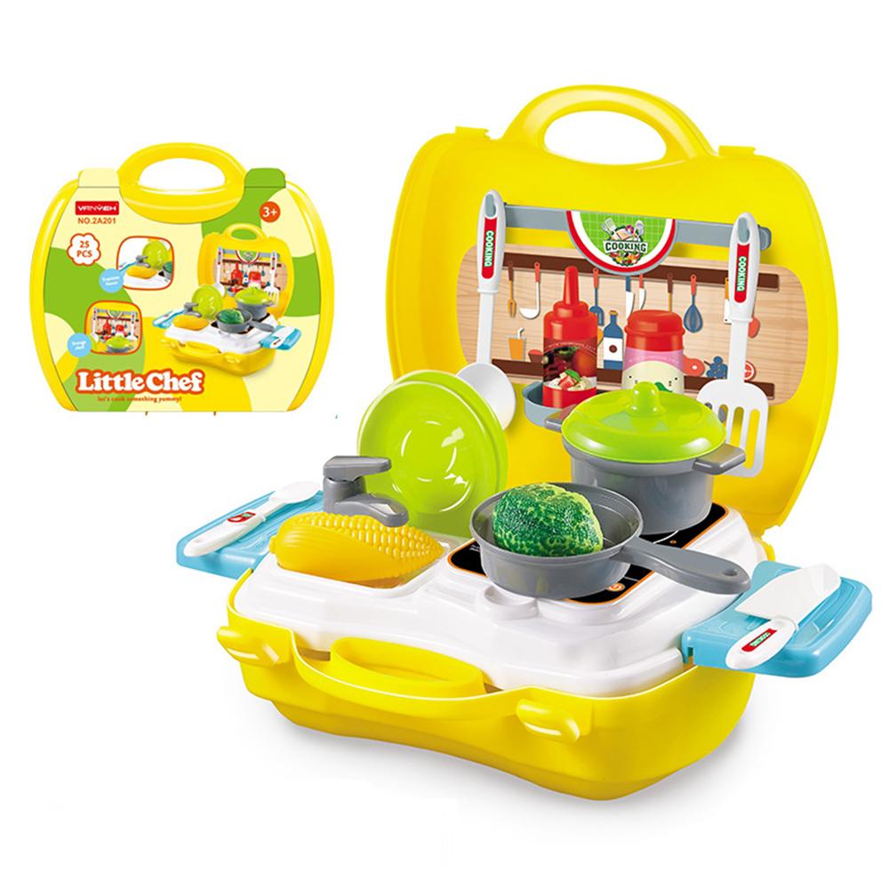 (任選) 兒童扮家家酒手提箱遊戲組 美味廚房 2A201