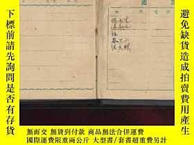 二手書博民逛書店人民手冊(五十罕見布面精裝日記本)3458 中國百貨公司哈爾濱地