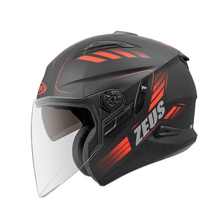 ZEUS 瑞獅 ZS-613B AJ10 半罩 3/4罩 內墨片 安全帽