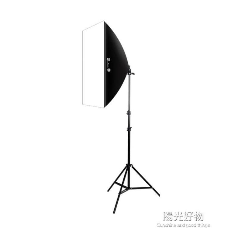 攝影棚攝影燈套裝拍照燈柔光燈箱拍攝燈小型led補光燈箱道具