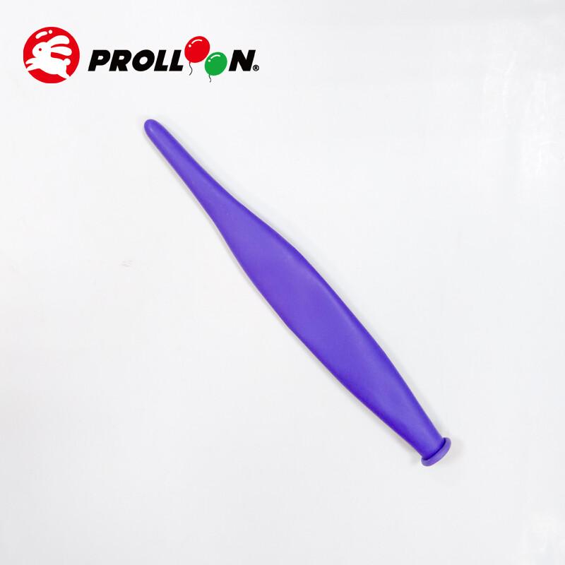 大倫氣球造形蘋果氣球 321 整條顏色相同 100顆裝 紫色 台灣製造