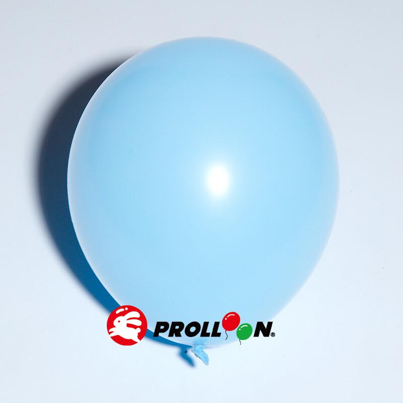 大倫氣球11吋馬卡龍色系 圓形氣球 100顆裝  淡藍色 台灣製造 安全無毒