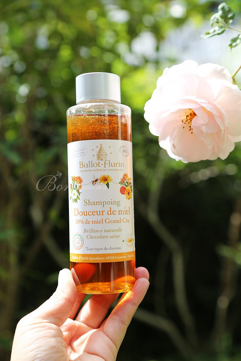 Ballot-Flurin法國巴洛蜜蜂世家-甜蜜蜂蜜潔淨洗髮露250ml