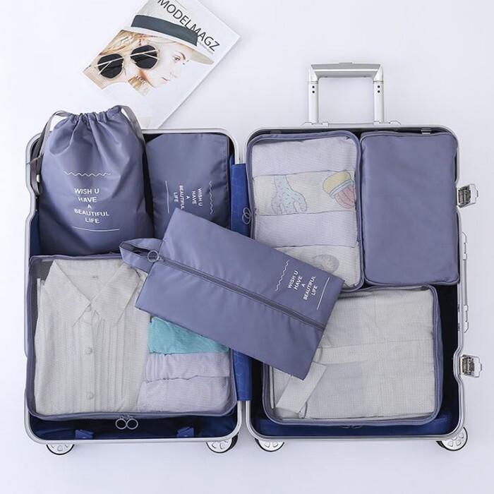 新版6件組收納旅行袋