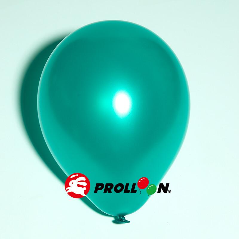 大倫氣球10吋珍珠色 圓形氣球 100顆裝 綠色 台灣製造 安全無毒