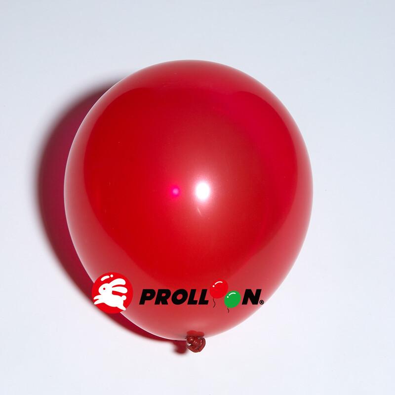 大倫氣球5吋糖果色 圓形氣球 100顆裝  水晶紅 台灣製造 安全無毒