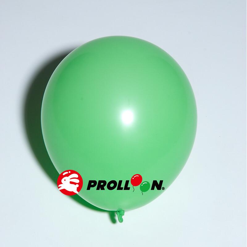 大倫氣球8吋糖果色 圓形氣球 100顆裝  綠色 台灣製造 安全無毒
