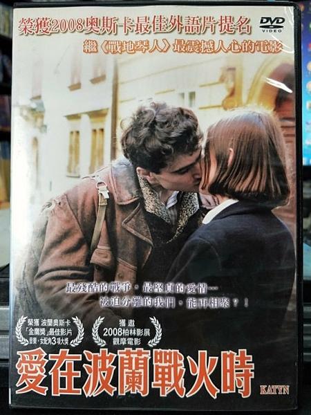 挖寶二手片-P83-001-正版DVD-電影【愛在波蘭戰火時】-榮獲2008奧斯卡最佳外語片(直購價)
