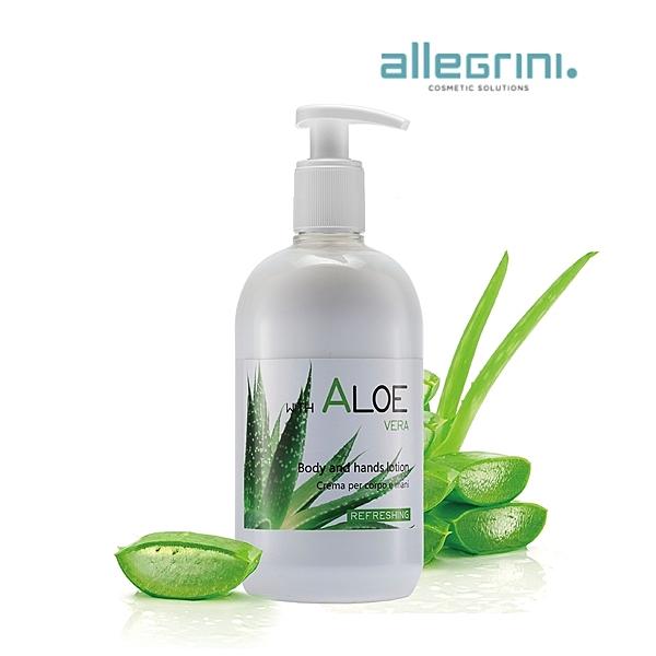 Allegrini艾格尼 蘆薈保濕全效潤膚乳500ml 清爽不黏膩